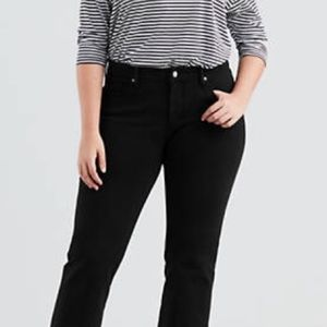 Aura By Wrangler Black Bootcut Jeans